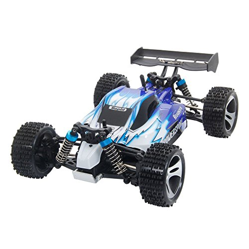 New WLtoys A959 Vortex 1/18 Scale 2.4G 4WD Electric RC Car Off-Road Buggy RTR 50km