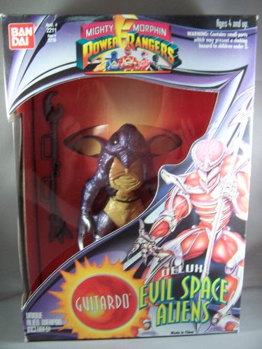 Mighty Morphin Power Rangers Deluxe Evil Space Aliens Guitardo - 1