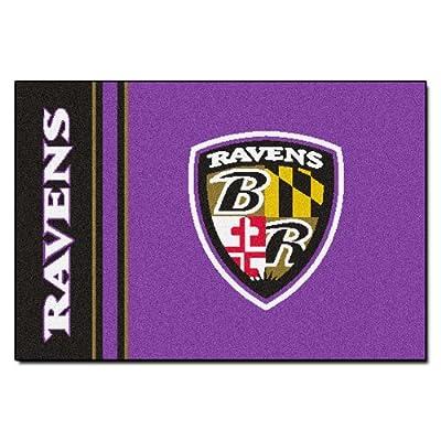 Fanmats NFL Baltimore Ravens Nylon Rug