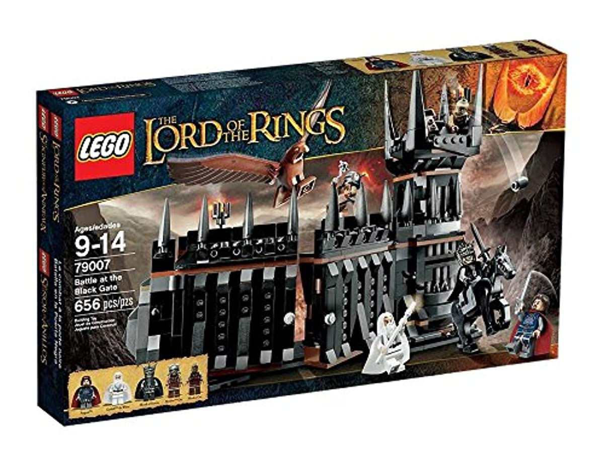 [해외] 레고 (LEGO) 반지의 제왕 블랙 게이트의 싸움 79007-79007 (2013-07-12)