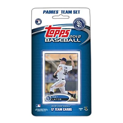 MLB San Diego Padres 2012 Topps Team Set