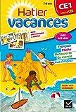 Cahier de vacances du CE1 vers le CE2...