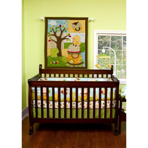 Forest Critters 5 Piece Baby Crib Bedding Set By Step By Step front-970102