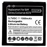 Samsung Galaxy S Advance i9070 Replacement Battery - 1500 mah