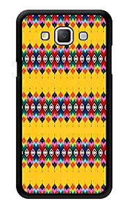 "Humor Gang Traditional Ethnic Pattern Yellow Printed Designer Mobile Back Cover For ""Samsung Galaxy j7"" (3D, Glossy, Premium Quality Snap On Case)"