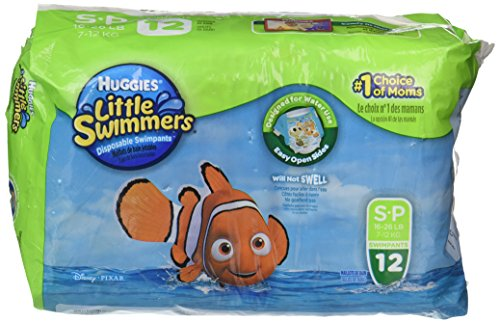 Huggies Little Swimmers Diapers - Small - 12 ct - 1