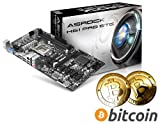 NEW DIGITAL COIN MINING PRE-ASSEMBLED COMPONENT BUNDLE: ASRock H61 Pro BTC BITCOIN MINING Motherboard, Intel Pentium G2030 3.0GHz Processor, 4GB DDR3 RAM