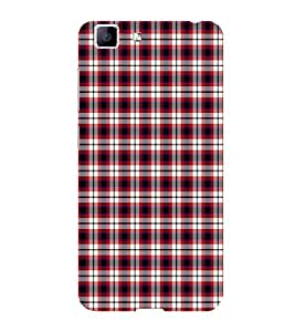 ifasho Colour Full Squre Pattern Back Case Cover for VIVO X5 MAX