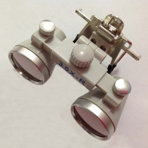 3.5X Fire-New Clip On Ch350 Binocular Dental Loupes Surgical Loupes