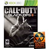 Call of Duty Black Ops II 2 + NUKETOWN 2025 BONUS MAP DLC [USA English Edition] Xbox 360 GAME