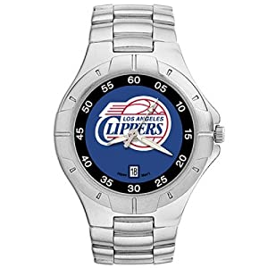 NSNSW22828Q-Los Angeles Clippers Watch - Mens Pro Ii Nba Sport by NBA Officially Licensed