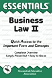 img - for Business Law II Essentials (Essentials Study Guides) by William D. Keller Ed.D. (1998-07-30) book / textbook / text book