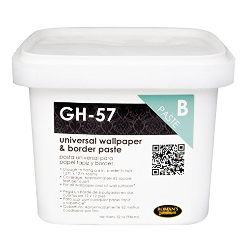 golden-harvest-207803-gh-57-universal-wallpaper-and-border-adhesive-with-applicator-1-quart-by-golde