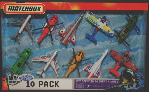 Buy Matchbox Sky Busters 10 Pack Planes Toys R Us Exclusive