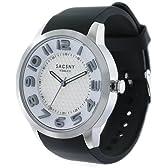 [サクスニー イザック]SACCSNY Y'SACCS 腕時計 立体インデックス グレー×ホワイトフェイス SY-15063S-WHGY1 メンズ