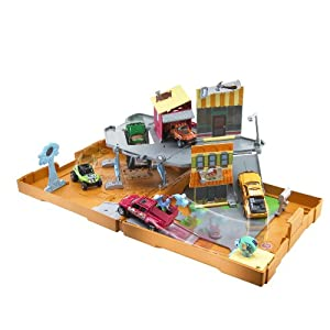 Matchbox Handy Manny Worksite Pop Up Adventure PlaySet