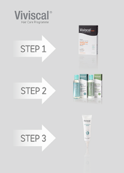 Viviscal 3-Step Hair Growth and Hair Care Programme