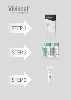 Viviscal 3-Step Hair Growth and Hair Care Programme