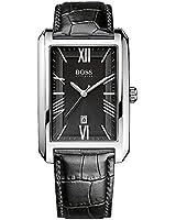 Boss - 1513026 - Montre Homme - Quartz Analogique - Bracelet Cuir Noir