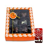 Chocholik Belgium Chocolate Gifts - Attractive Treat Of Chocolate Hearts With 3d Mobile Cover For IPhone 6 - Diwali...