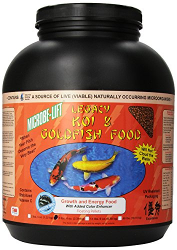 Eco Labs MLLHGELG Microbe Lift High Growth and Energy Fish Food, 5.4-Pound (Koi Food Growth compare prices)