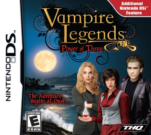 Vampire Legends: Power of Three - Nintendo DS