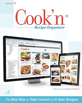 Cook'n Recipe Organizer Version 11 MAC [Download]