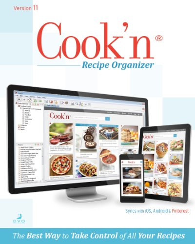 Cook'n Recipe Organizer Version 11 MAC [Download]
