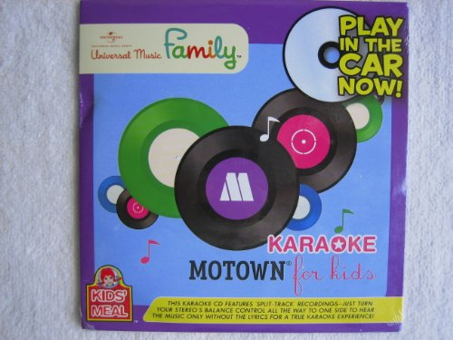 Karaoke Motown for Kids (Universal Music Family) [Wendy's Kids Meal Exclusive] - 1