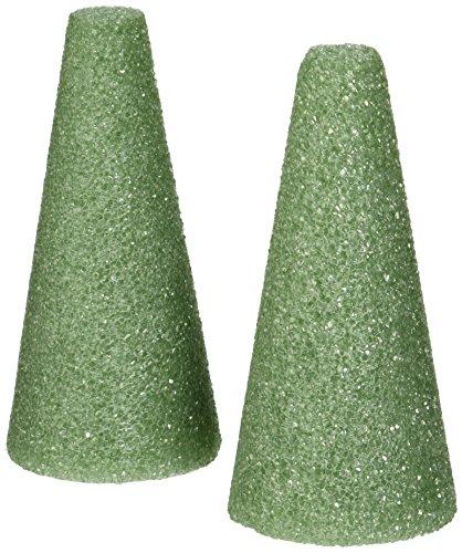 styrofoam-cones-6x3-2-pkg-green