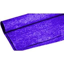 Absolute C3BL 3-Feet Long/4-Feet Wide Carpet for Speaker Sub Box, RV Truck Car/Trunk Laner (Blue)
