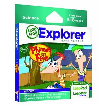 Expl Learning Game Phineas Fer - 1