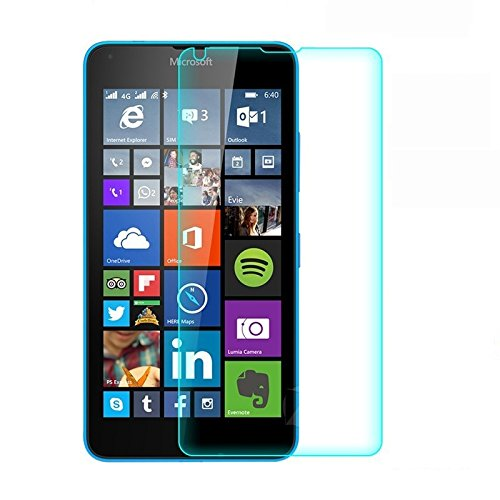Royal Touch (TM) Nokia Microsoft Lumia 730 TEMPERED GLASS SCREEN PROTECTOR / BUBBLE FREE APPLICATION / HOLE FOR FRONT PROXIMITY SENSOR / NO HANGING PROBLEM / HIGH QUALITY JAPANESE AGC GLASS MATERIAL / 0.3MM SLIM THICK / 2.5D CURVED EDGE  available at amazon for Rs.99