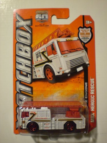2013 Matchbox MBX Heroic Rescue - 2006 Fire Engine - 1