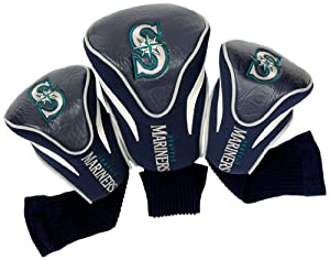 MLB Seattle Mariners Contour Head Cover (Pack of 3), Navy by Team Golf