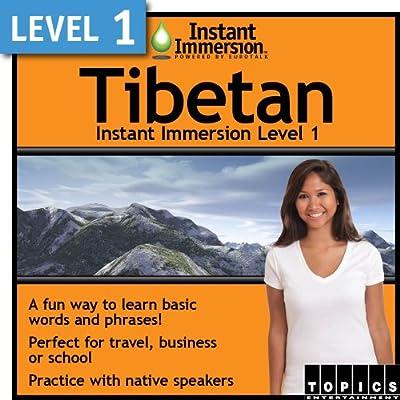 Instant Immersion Level 1 - Tibetan