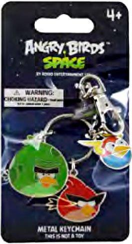 Imagen de Angry Birds ESPACIO metal llavero # 2 Pájaro monstruo, Super Red Bird Bird Lightning