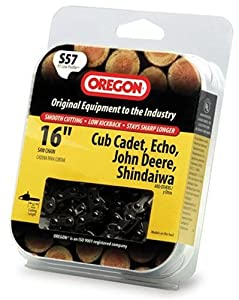 Oregon 16-Inch, Semi Chisel Chain Saw Chain Fits Cub Cadet, Echo, John Deere, Shindaiwa S57 (Discontinued by Manufacturer)
