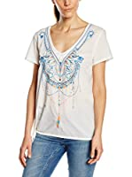 Chiemsee Camiseta Manga Corta Lindsay (Blanco)