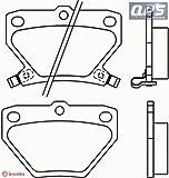 TOYOTA YARIS (_CP10) 1.5 VVT-i TS Brembo Rear Brake Pads 04/99 ->
