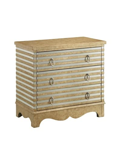 Coast to Coast Sarsdale 3-Drawer Chest, Golden As You See