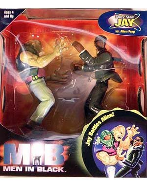 Men in Black Body Slam Jay vs. Alien Perp action figures - 1