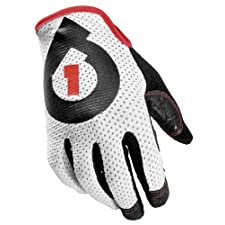 SixSixOne Raji Gloves (White, Large)