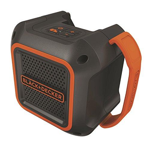 ブラックアンドデッカー(BLACK+DECKER) 18V Bluetoothスピーカー(本体のみ) BDCSP18-JP