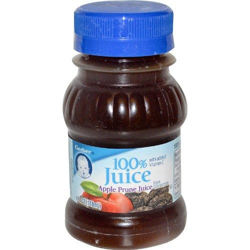Gerber, Apple Prune Juice, 4 fl oz (118 ml)