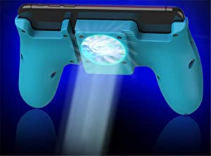 Gamepad, Charging Heat Sink Grip, Mobile Phone Cooler, Mobile Gamepad Flatbed Universal, Mobile Game Controller