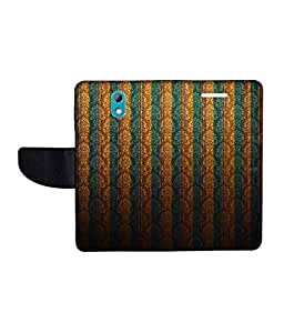 KolorEdge Printed Flip Cover For HTC Desire 526G Plus Multicolor - (50KeMLogo11683HTC526GPlus)