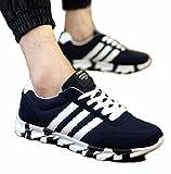 【SEBLES】メンズ 男性 スニーカー 靴 シューズ スポーティー おしゃれ 快適 TypeA: ブラック (44 [ 27.0cm ])