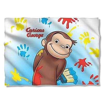 Curious George Paint Pillow Case
