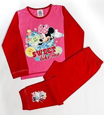 Girls Disney Minnie Mouse Sweet Like Me Snuggle Fit Pyjamas Age 3-4 Years